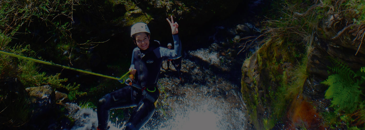 Canyoning Beginners Tour Madeira Island