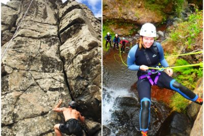 Canyoning and Climbing in Madeira Island