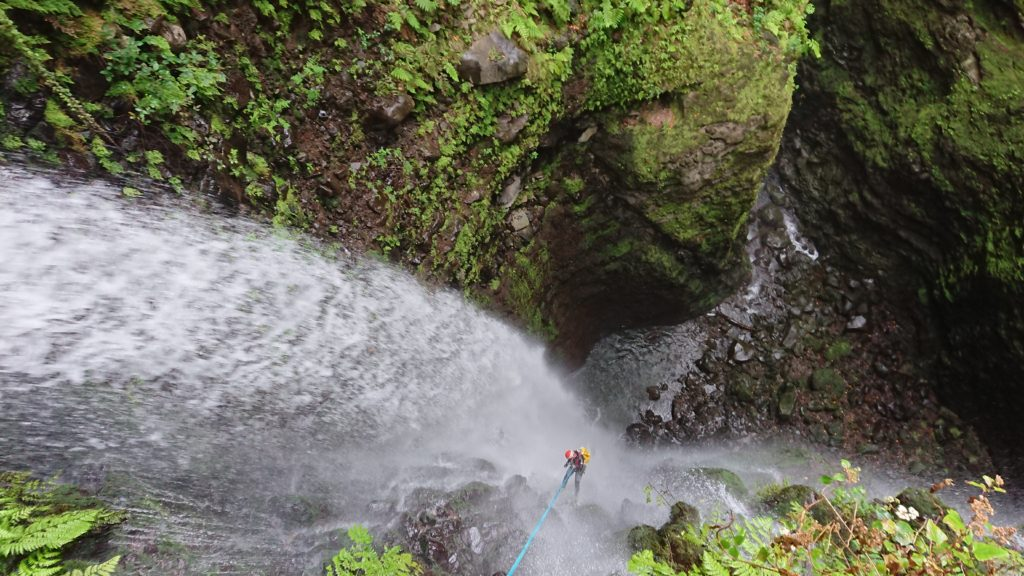 Advanced Canyoning Madeira Island